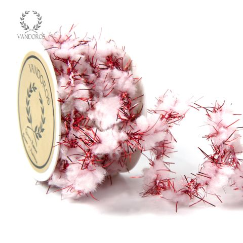 SNOWBALL STRING RED/WHITE