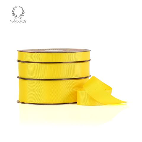HOT GROSGRAIN YELLOW