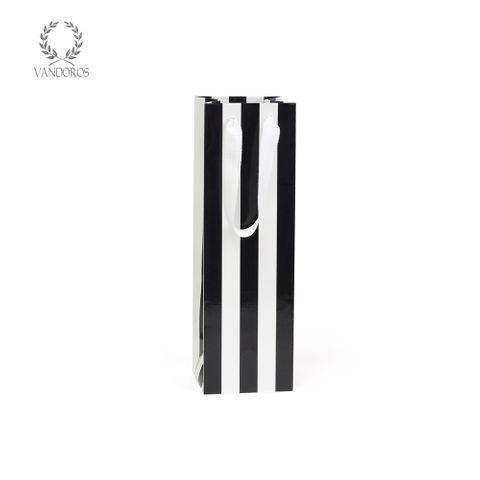 PAVILION GLOSS BAG BLACK/WHITE