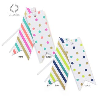 CONFETTI GIFT TAG MULTI PACK OF 6