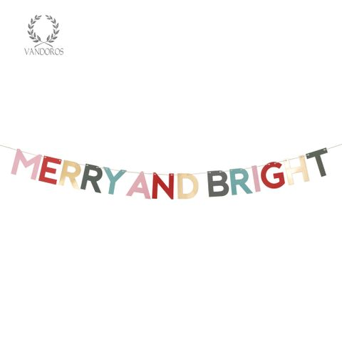 PAPER GARLAND CHRISTMAS BRIGHT