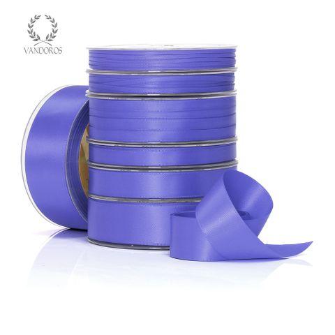 DOUBLE SATIN IRIS BLUE