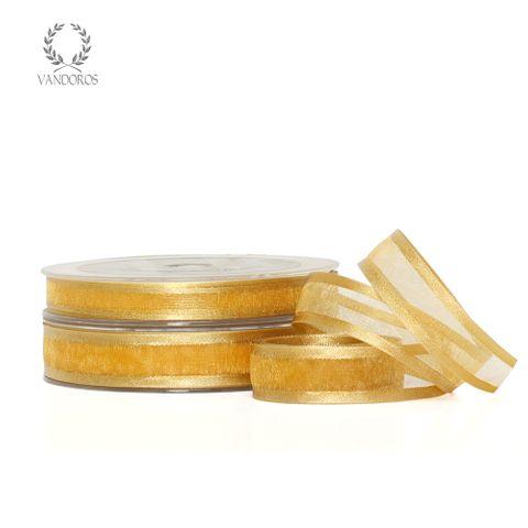 AN055-A083 ANTIQUE GOLD SATIN EDGE