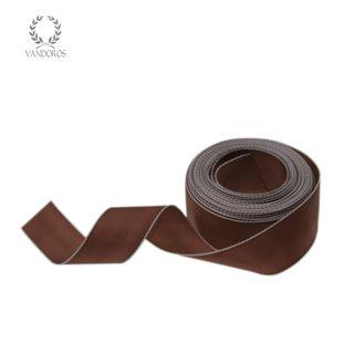 CORFU CHOCOLATE/WHITE EDGE 25mmX25M