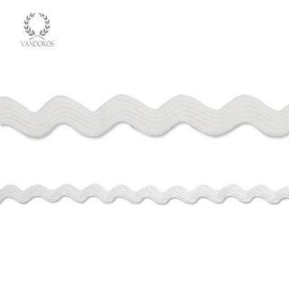 RIC-RAC WHITE 2mmX50M