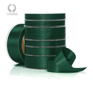 DOUBLE SATIN HUNTER GREEN 6mmX50M