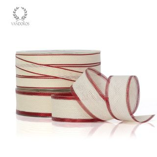 YORK IVORY/RED EDGE 25mmX25M