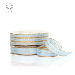 NUTCRACKER EGGSHELL BLUE/GOLD 10mmX50M