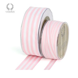 PROVENCE L.PINK/WHITE WIRE EDGE 38mmX25M