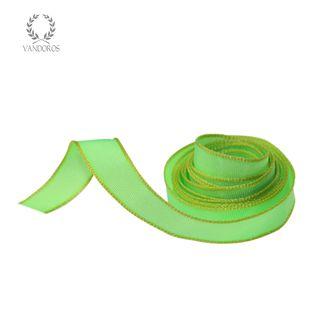 CORFU FLURO GREEN/YELLOW EDGE 10mmX50M