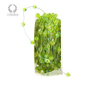 BK-Y02-51 LIME PEARLS WIRED 20M