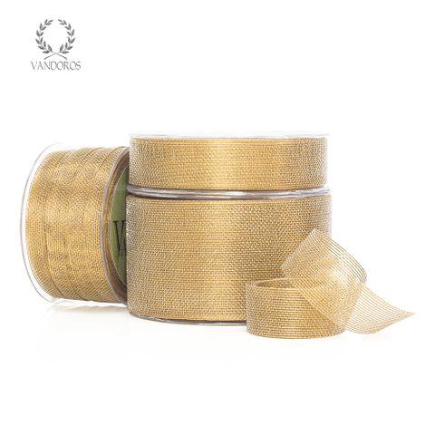 ARIA METALLIC MESH ANTIQUE GOLD