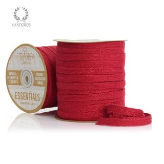 BRAIDED JUTE SPICE RED 10mmX50M