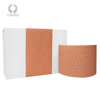 COMO UNCOATED SKINNY WRAP TERRACOTTA 80gsm 10cmX60M