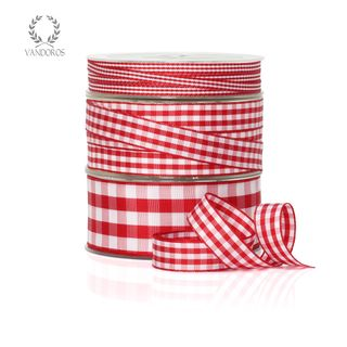 CH001-14 RED GINGHAM 5mmX50M