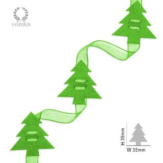 FELT TREES LIME 10MTRS