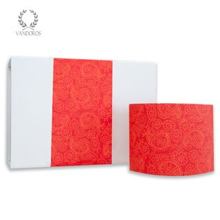 HENNA UNCOATED SKINNY WRAP PAPER TANGERINE (RED/ORANGE)  80gsm 10cmX60M