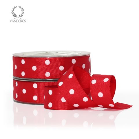 DOTS RED/WHITE