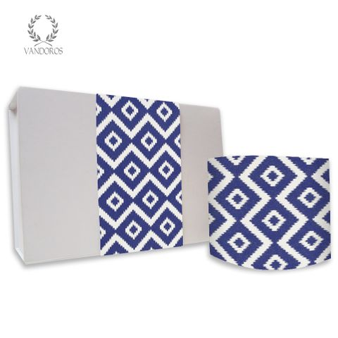 SKINNY WRAP HYDRA UNCOATED AEGEAN BLUE/WHITE 80gsm