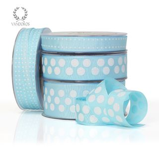 ZOE FLORENCE SPOTS LIGHT BLUE/IRIDESCENT 38mmX25M
