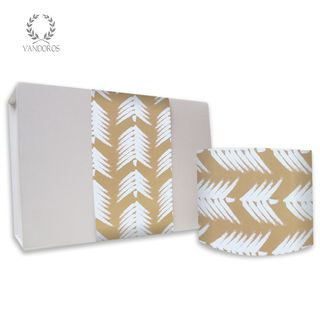 FOREST UNCOATED SKINNY WRAP WHITE/GOLD 80gsm 10cmX60M