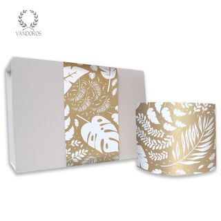 SKINNY WRAP UNCOATED LUSH GOLD/WHITE 80gsm 10cmX60M