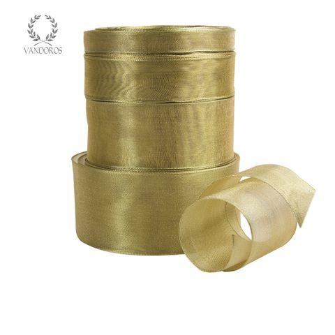 AM076-FFFF GOLD METALLIC RIBBON