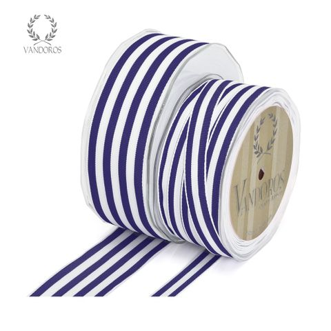 PROVENCE NAVY/WHITE WIRE EDGE