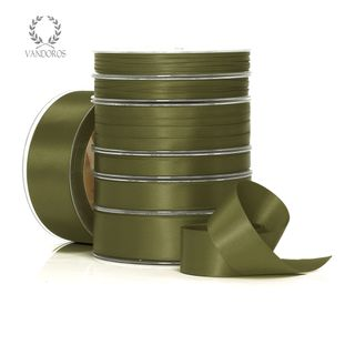 DOUBLE SATIN OLIVE 6mmX50M