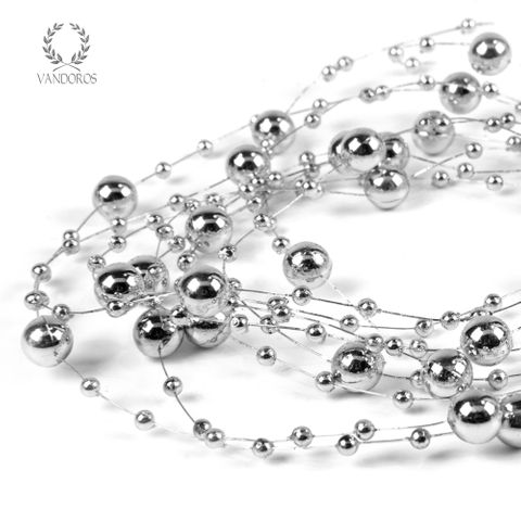 PEARL STRING SILVER