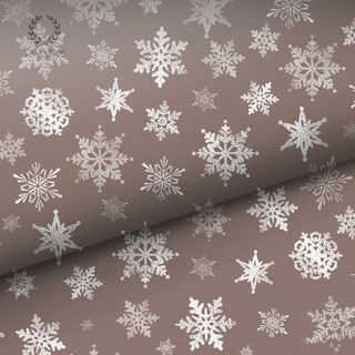 VINTAGE SNOWFLAKE UNCOATED FAWN 80gsm 60cmX60M