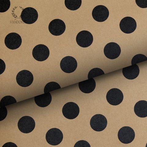 PEARLS KRAFT PAPER BLACK/KRAFT 70gsm