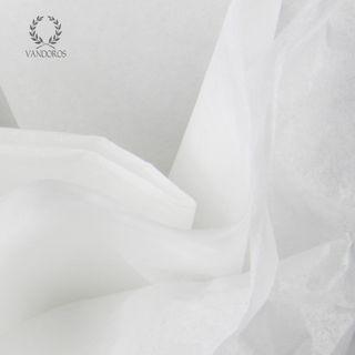 WHITE SATIN WRAP TISSUE PAPER 480 SHEETS