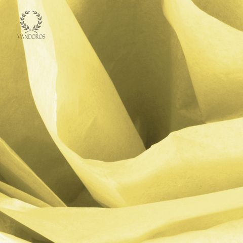 YELLOW SATIN WRAP TISSUE PAPER 480 SHEETS