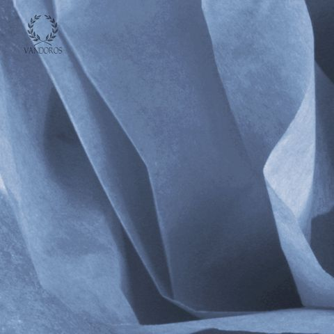 PACIFIC BLUE SATIN WRAP TISSUE PAPER 480 SHEETS