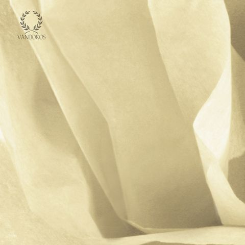 FRENCH VANILLA SATIN WRAP TISSUE PAPER 480 SHEETS 17gsm