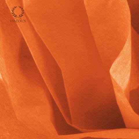 ORANGE SATIN WRAP TISSUE PAPER 480 SHEETS