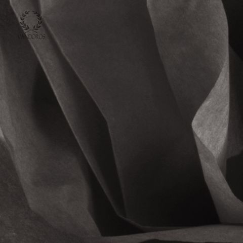 BLACK SATIN WRAP TISSUE PAPER 480 SHEETS