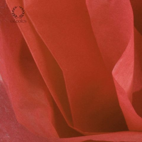 CHERRY RED SATIN WRAP TISSUE PAPER 480 SHEETS