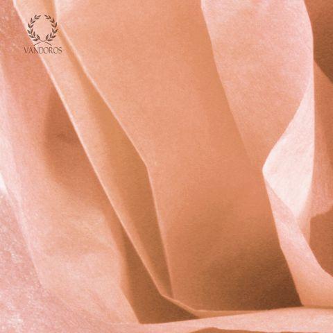PEACH SATIN WRAP TISSUE PAPER 480 SHEETS