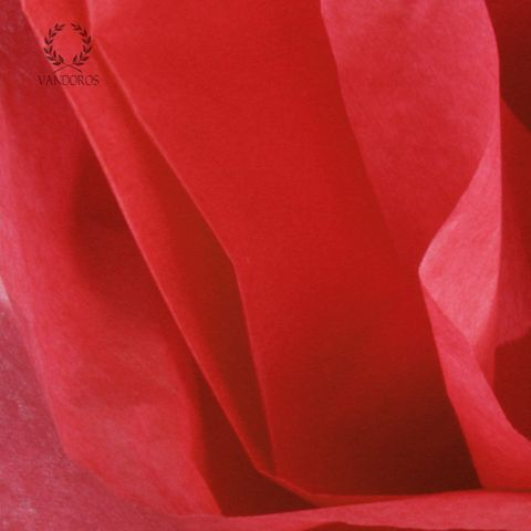 SCARLET RED SATIN WRAP TISSUE PAPER 480 SHEETS