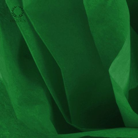 KELLY GREEN SATIN WRAP TISSUE PAPER 480 SHEETS