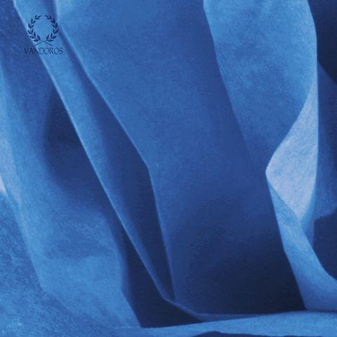FIESTA BLUE SATIN WRAP TISSUE PAPER 480 SHEETS 17gsm