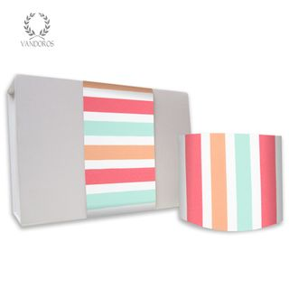 LOLLY UNCOATED SKINNY WRAP PASTEL 80gsm 10cmX60M