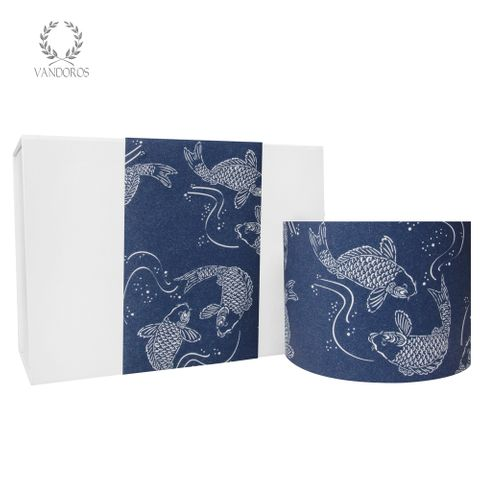 KOI UNCOATED SKINNY WRAP NAVY/WHITE 80gsm