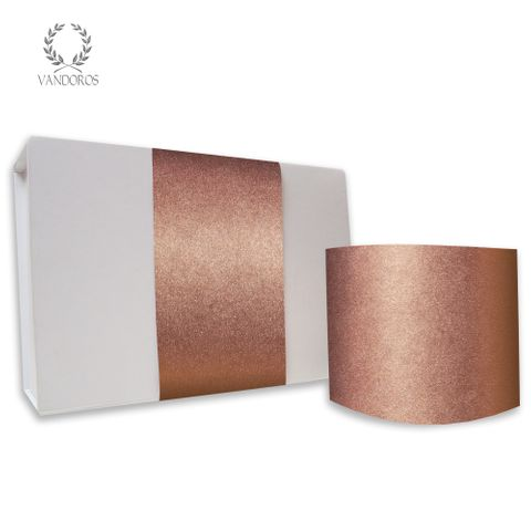 PLAIN UNCOATED SKINNY WRAP COPPER 80gsm