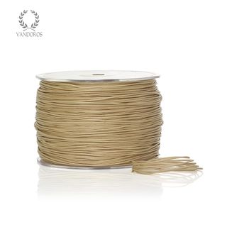 WAXED COTTON STRING NATURAL 1mmX300M