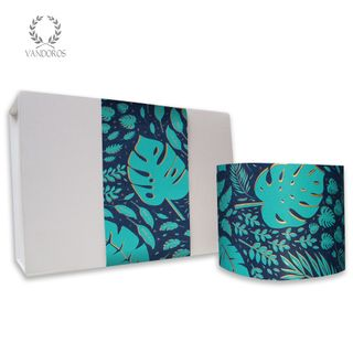SKINNY WRAP UNCOATED LUSH NAVY/JADE 80gsm 10cmX60M