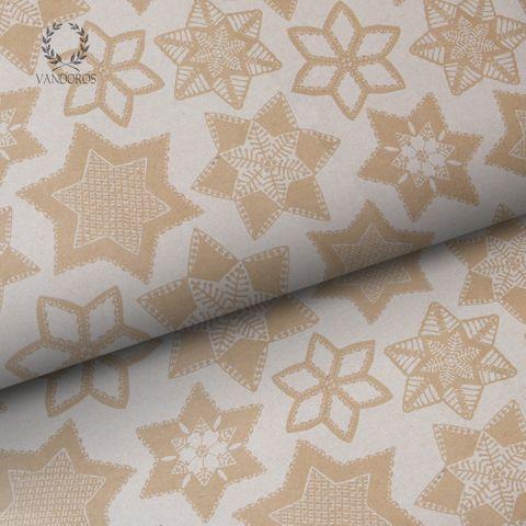 CHRISTMAS COOKIES KRAFT PAPER WHITE/KRAFT 70gsm