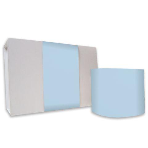 SKINNY WRAP UNCOATED PLAIN LIGHT BLUE 80gsm